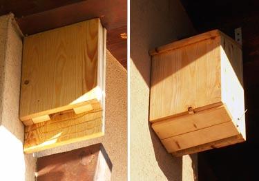 Fabrication de nichoirs for Modele chauve souris